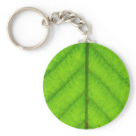 Green Leaf Keychain